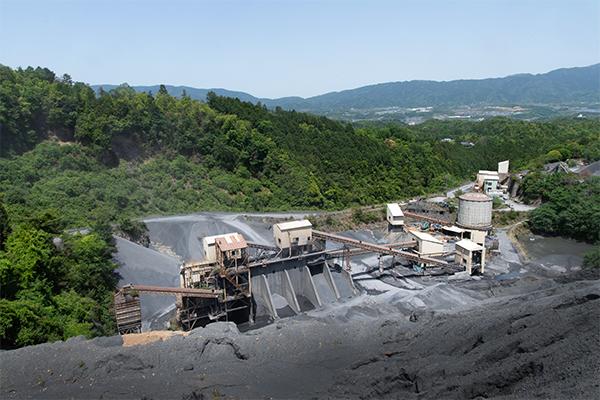 須河工場の風景