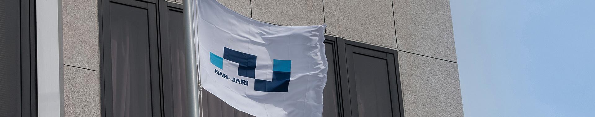 社旗の写真